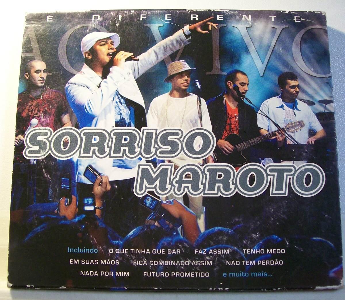 SORRISO BAIXAR AO DIFERENTE CD VIVO 2007 MAROTO