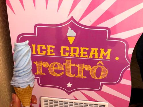 sorvete americano para festas e eventos