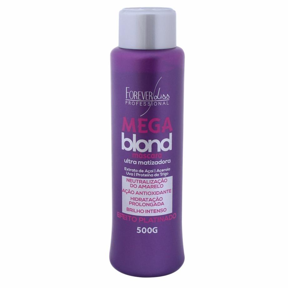 ba02795b2 sos antiemborrachamento + matizador mega blond forever liss. Carregando  zoom.