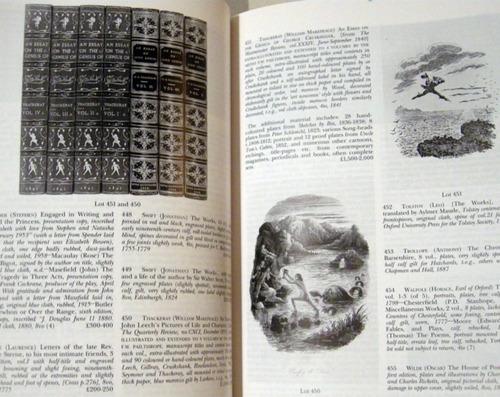 sotheby´s printed books and maps 1994 bibliofilo no envio