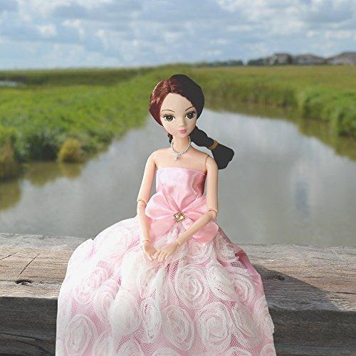 sotogo 85 piezas de la muñeca barbie set de ropa incluyen 1