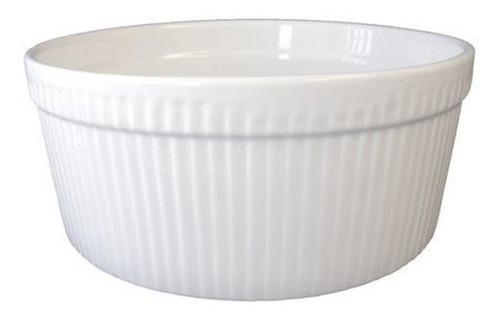 souffle de 1-1 / 2 cuartos de galon bia cordon bleu, blanco