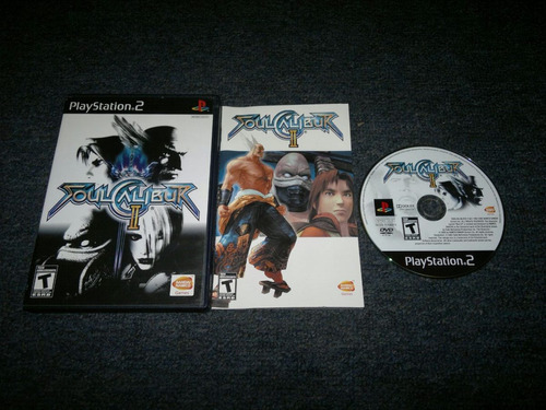 soul calibur ii completo para play station 2.