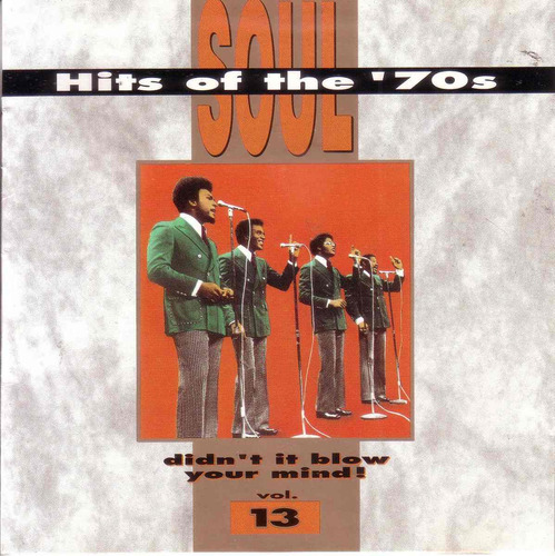 soul hits of the 70's vol. 13 billy preston rufus pop cd pvl