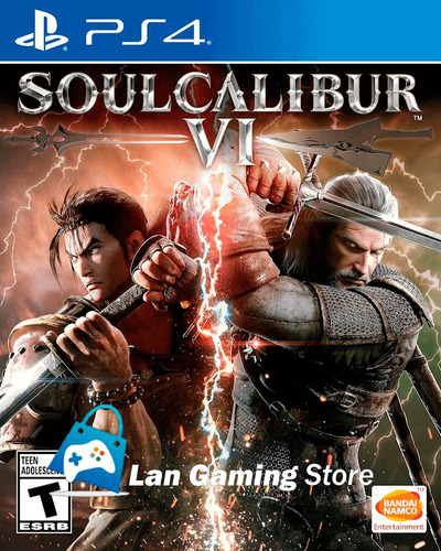 soulcalibur 6 soul calibur vi ps4 playstation 4 + poster