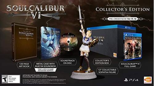 soulcalibur vi collectors edition ps4 nuevo