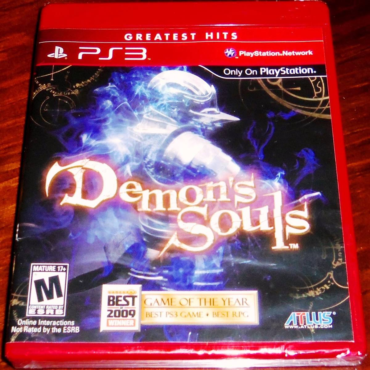Lote 2 Vj Demon's Souls Y The Last Of Us Ps3 Nuevos Sellados