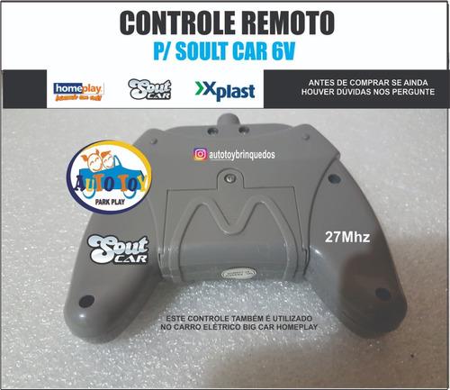 soult car 650 - x-plast - rádio controle 27mhz