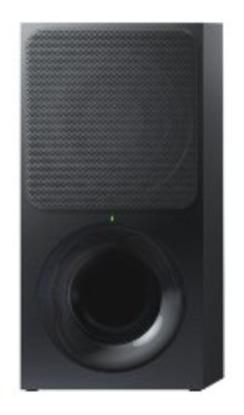 sound bar ht-ct390 com subwoofer wireless, 180w, 2.1 canais,