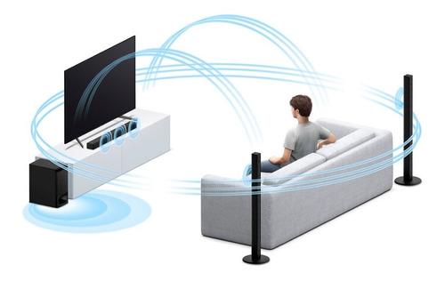 sound bar sony com função home theater ht-s700 de 5.1 canais