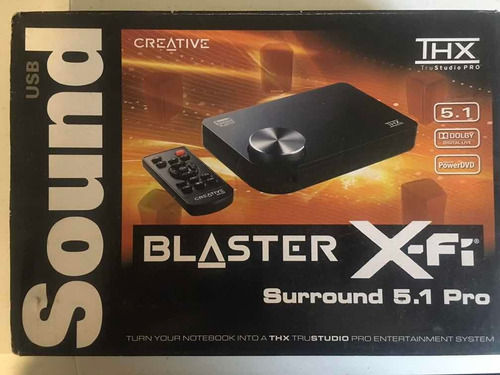sound blaster xfi pro creative