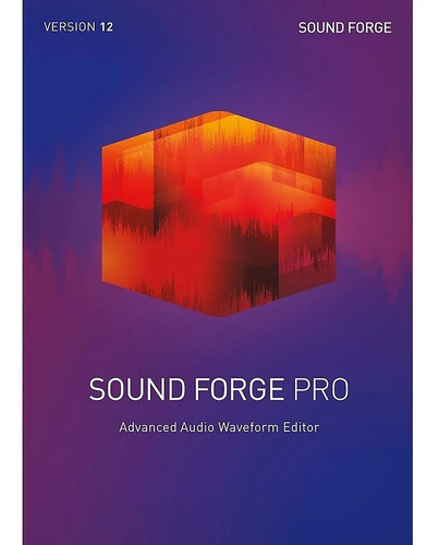 sound forge pro 13 software daw licencia original full