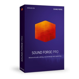 Sound Forge Pro V13 + Noise Reduction Pack  'win'