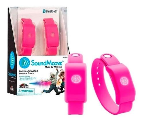 sound moovz pulsera musical para bailar rosa soundmoovz ef