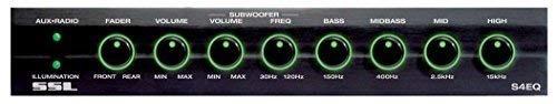 sound storm laboratories ecualizador de 4 bandas, gráfico, c