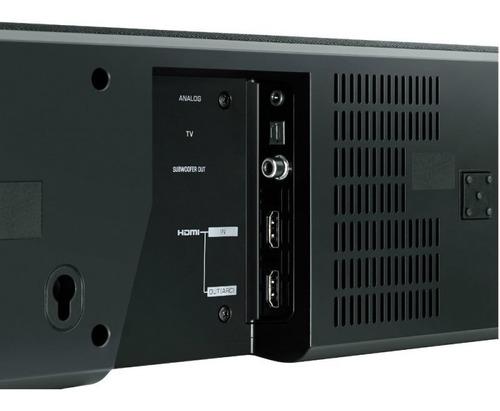 soundbar 7.1 canais 120w rms com dts virtual x hdmi bluetoo