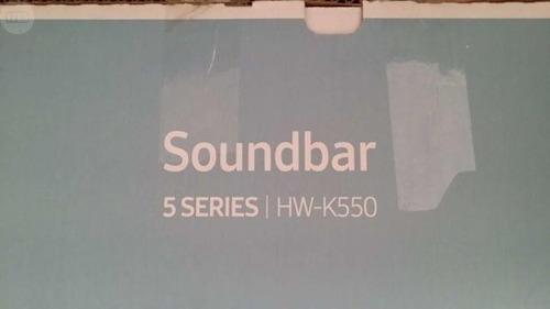 soundbar samsung hw-k550 + subwoofer (340 w, 3.1 ch) barra