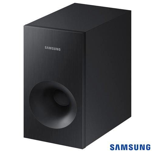 soundbar samsung subwoofer sem fio 130w hw k360/zd