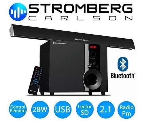 soundbar stromberg subwoofer bluetooth sb-21 soundgroup.