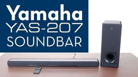 Soundbar Subwoofer Yamaha Yas-207 Bl Wi-fi/bluetooth/bivolt