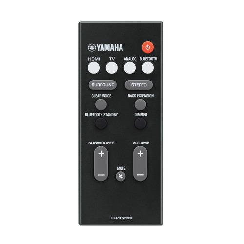 soundbar yamaha yas-207   subwoofer   200w   bluetooth   nfe