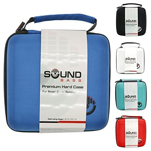 soundbass - superior azul dura de la caja del altavoz de bo