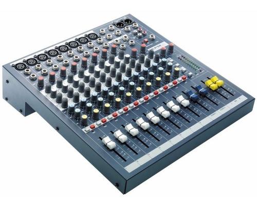 soundcraft epm8 mezclador 10 canales