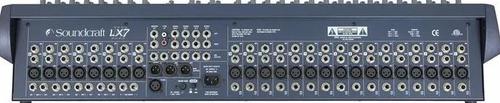 soundcraft lx7ii 24 canales mezcladora