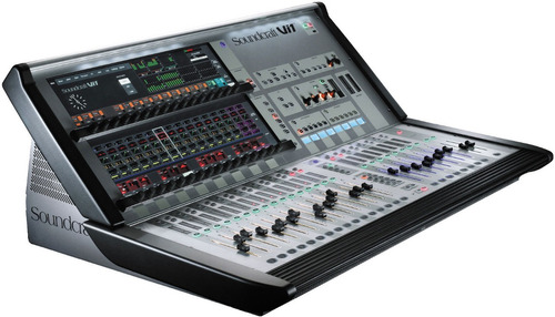 soundcraft vi32 +msb16 bundle con mini stage box 16 canales