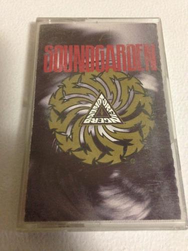 soundgarden chris cornell grunge rock alternativo cassette