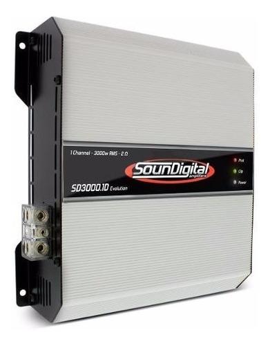 soundigital evolution 3000rms 2 ohms