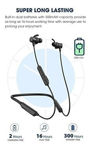 soundpeats auriculares inalambricos magneticos con bluetooth