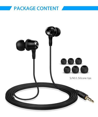 soundpeats auriculares intrauditivos auriculares con cable a