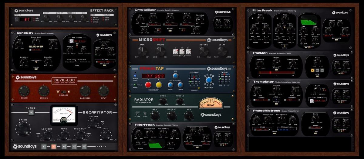 Soundtoys 5 - Todos Os Plugins - Plugin Vst - Win E Mac