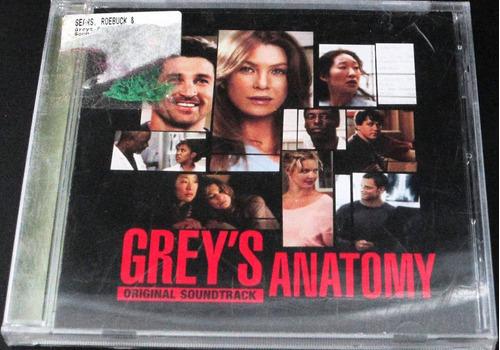 soundtrack - grey's anatomy nuevo cerrado importado usa