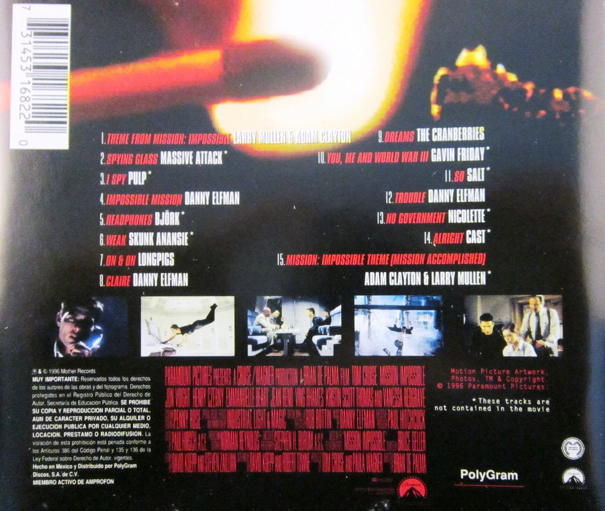 Soundtrack - Mission Impossible - $ 99 00