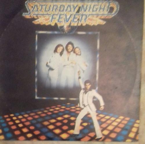 soundtrack, saturday night fever, disco vinilo doble.