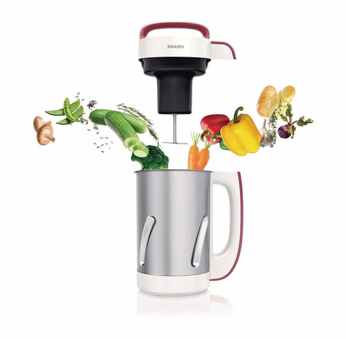 soup maker philips hr2200 + recetario + vasos de regalo