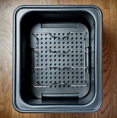 sous vide supremo demi horno de agua , negro , svd -00101