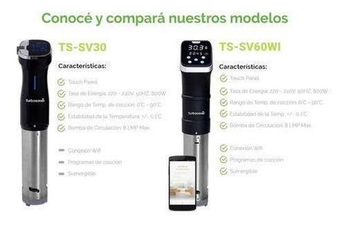 sous vide wifi turbosaver ts-sv60wi cocina al vacio 20litros