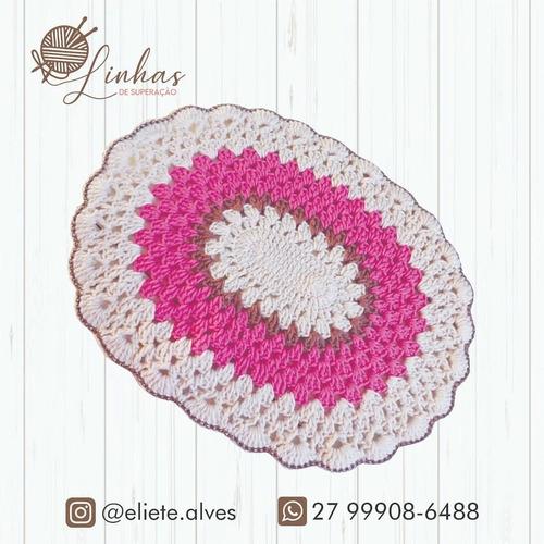 sousplat de croche,produto artesanal