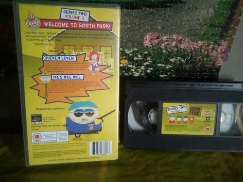 south park - 2 episodios - vhs original usa