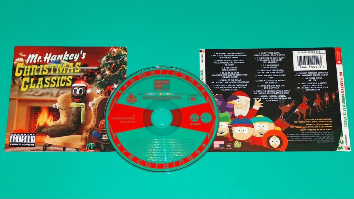 South Park - Mr. Hankey\'s Christmas Classics - Soundtrack Cd - S/ 9 ...