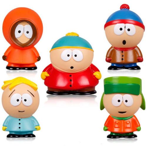 south park - set de 5pzas eric cartman kenny kyle stan 5cm
