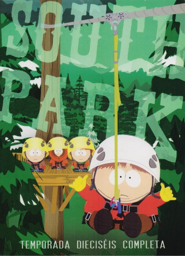 south park temporada 16 dieciseis dvd