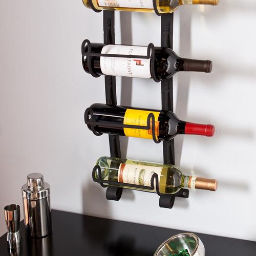 southern enterprises kendt pared mount wine rack