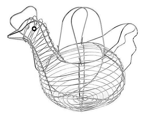 Colección Clásica Cesta de Alambre huevo