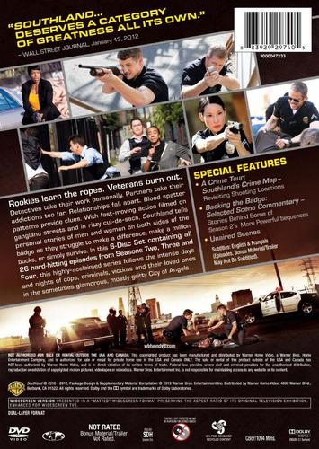 southland temporadas 2 3 4  serie de tv importadas dvd