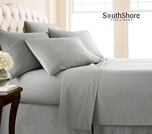 southshore multa ropa de cama 6 pieza - set hoja bolsillo ex