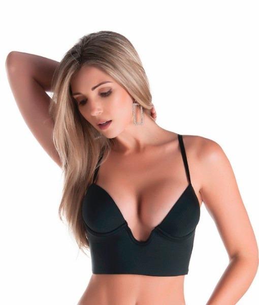 fc96d4e94 Soutien Com Decote Magico Ideal Para Usar Com Vestidos - R  29